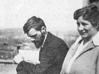 DH Lawrence & Frieda in Cornwall